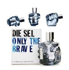 Perfume masculino Diesel Only The Brave Eau de 50ML, por apenas US$50,00 na Charme Perfumaria