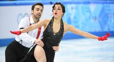 Ice Dancer Sara Hurtado (Spain)