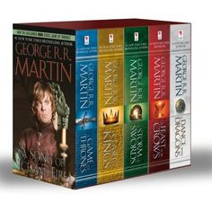 Yes, please! Game of Thrones 5-Box Boxed Set by George R.R. Martin