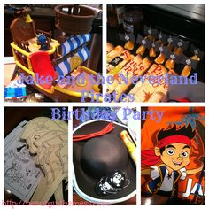 Jake and The Neverland Pirates (and ME!) Birthday