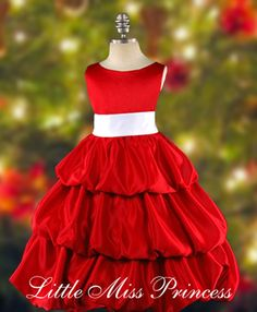 red & white christmas dress---want one of these for m----whole site is beautiful, but why would i ever pay over $50 for a toddler dress?!