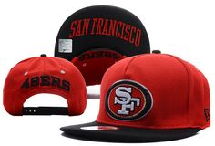 NFL San Francisco 49ers Snapback New Era 9FIFTY Hats Red 5860 $7.90