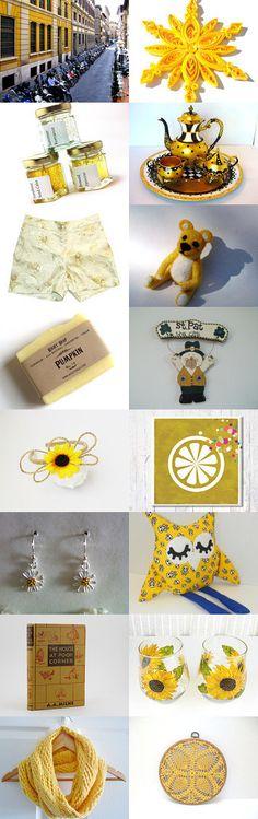 Thursday's Sunshine  by Silvana Sagan on Etsy--Pinned with TreasuryPin.com