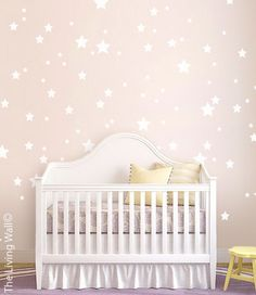 Mix Stars Wall Sticker Decal Home Star Pattern Wall by LivingWall