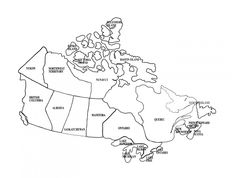 Printable Maps Of Canada Printable Outline Maps For Kids Map Of Canada For Kids Printable Map Of Canada Provinces Printable Blank Map Of Canada And Provinces Printable Blank Maps Canada For Kids, Learning Maps, Canada Day Crafts, Map Geo, Printable Maps, Freebies Printable, Map Sketch, Maps For Kids, Map Outline