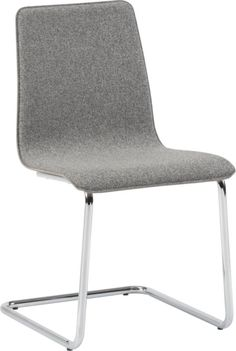 Conference Seating -   pony tweed chair in dining chairs, barstools | CB2