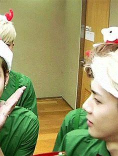 "Cutie Tay, Lay and Sehun :"">"