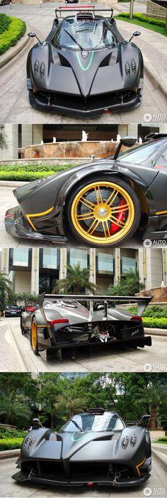 The Ultimate Supercar - Pagani Zonda R