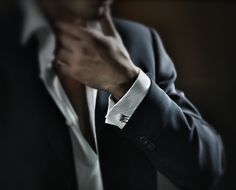 Cufflinks. I just find there to be something particularly charismatic about a man with cufflinks.