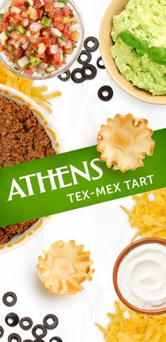 A little bit of this, a little bit of that, and you've got yourself a real crowd pleaser. Click for the full recipe. #texmex #easyrecipes #mexicanfood Phyllo Shell Recipe, Stuffed Shells Recipe, Bacon Dates, Athens Food, Chunky Salsa, 5 Ingredient Recipes, Monterey Jack Cheese, Mexican Food Recipes, Ethnic Recipes
