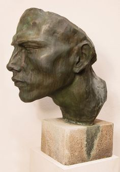 Romanichel (Portrait eines Rom-Jünglings). Bronze, 1933 by Arno Breker (German 1900-1991)