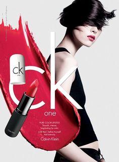 Sun Fei Fei - cK One cosmetics Spring Summer 2012