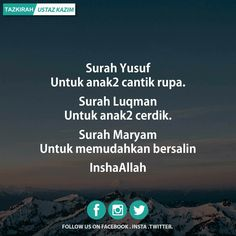 Anak ku tercinta Reminder Quotes, Self Reminder, Mood Quotes, Positive Quotes, Motivational Quotes, Life Quotes, Prayer Verses, Quran Verses, Quran Quotes