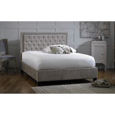 Limelight Rhea Mink Bed Frame |up to 60% OFF RRP| Next Day - Select Day Delivery