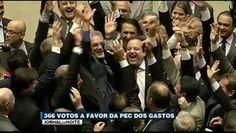 Portal Galdinosaqua: Câmara aprova PEC do gastos com 366 votos