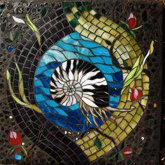 Nautilus Mosaic by Dar Mace Gabriola