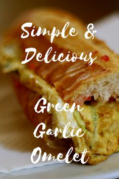 "The omelet, or ""tortilla"" is a staple of Spanish cuisine. Here's a recipe for our favorite version of this traditional dish with a twist: a green garlic omelet! It's perfect for breakfast or dinner, and it couldn't be easier. Just one bite of this authentic and vegetarian dish, and you'll feel like you're in Spain! #tapas #foodie #breakfast #recipe #foodblog #barcelona #spain Spanish Cuisine, Spanish Food, Vegetarian Dish, Vegetarian Recipes, First Bite, Foodie Travel, Street Food, Barcelona Spain, Barcelona Travel"