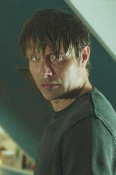 Sexy crazy scary intimidating Mads Mikkelsen.