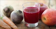 This Organic Fresh Beet, Carrot, Kale and Ginger Juice is a nutrient-packed breakfast or snack that will give you the energy boost you need!