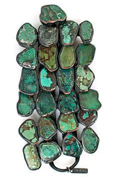 Monies 4 Layer Turquoise Bracelet » Jewelry » Bracelets » Santa Fe Dry Goods | Clothing and accessories from designers including Issey Miyak...
