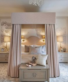 Home decor elegant rana interior style coach on a girls dreamy room by sophiepatersoninteriors homedesigns homedecor interiordesign designlovers Teen Bedroom Designs, Bedroom Images, Jugendschlafzimmer Designs, Interior Styling, Interior Design, H Design, Wall Design, Design Ideas, Classic Home Decor