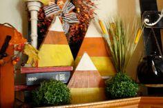 Dejavu*Crafts: Candy Corn blocks!