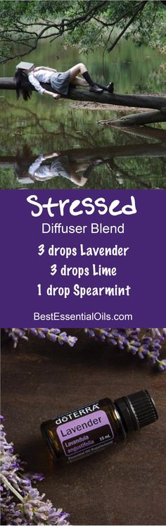 Stressed doTERRA Diffuser Blend