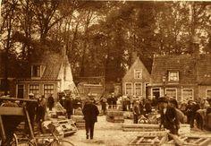 De kippenmarkt op de Boterhoek.