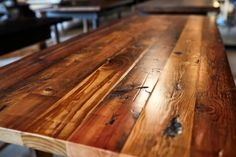 Custom Reclaimed Wood Tables Made to Spec | Etsy