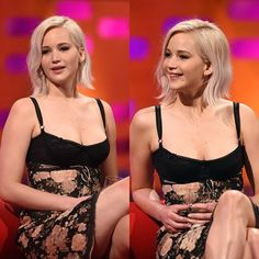 NEW pictures of Jennifer on the Graham Norton show // she's so cute aw