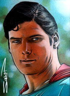 Superman Sketch Card 2 by RandySiplon.deviantart.com