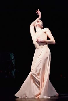 Marie-Agnès Gillot in Orphée et Eurydice. Paris Opéra Ballet. Photo by Agathe Poupeney, Courtesy POB.