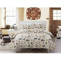 Walmart: Country Lodge Bedding Quilt