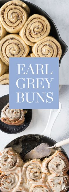 Earl Grey Buns  #purewow #baking #cooking #easy #recipe #breakfast #food