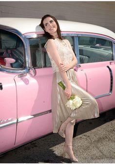 Look do Dia | Noiva retrô em Las Vegas  http://www.makeupatelier.com.br/2016/10/look-do-dia-noiva-retro-em-las-vegas/  retrô, noiva, wedding, dress, vintage, las vegas, casamento