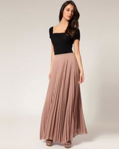 What To Wear With Long Skirts – How To Wear Maxi Skirts