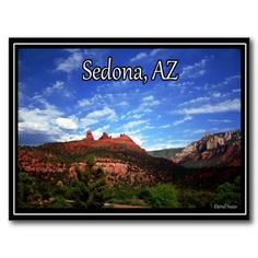 Sedona, Arizona Post Card.  From MagicEdgeSouthwest