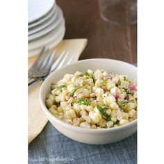 Fresh Corn Salad - Taste and Tell