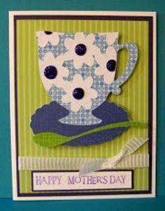 Cricut Mother's Day Card. Kate's ABCs Cartridge.  *