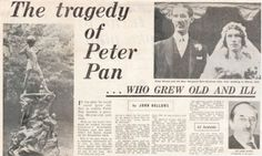 the tragedy of peter pan