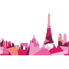 Paris Skyline PDF Pattern