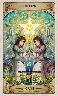 Cerebium Tarot 17 - The Star by Hedrick-CS on DeviantArt