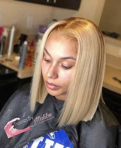 Caramel Blonde Hair Dye, Dyed Blonde Hair, Blonde Bob Wig, Ashy Blonde, Blonde Bobs, Blonde Highlights, Top Hairstyles, Baddie Hairstyles, Hairstyle Men
