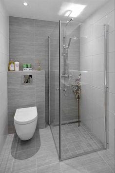 33 Ideas For Small Bathroom - kleines badezimmer Bathroom Layout, Modern Bathroom Design, Bathroom Interior Design, Kitchen Design, Bathroom Wall Tiles, Small Bathroom Designs, Bathroom Colours, Bathroom Canvas, Tub Tile