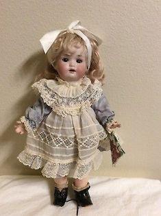 "Antique Carl Harmus 12"" German Doll"
