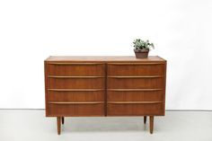 Vintage Deens design laden kast dressoir dresser drawers