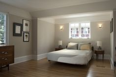 Good master bedroom color and trim