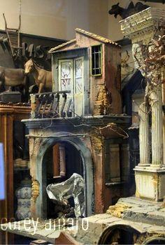 The presepe on Via San Gregorio, in Naples.     Margie Longano Miklas, contributing writer, margieinitaly.wordpress.com