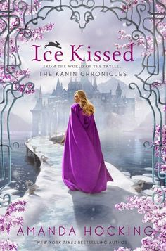 Cover Reveal: Ice Kissed (Kanin Chronicles #2) by Amanda Hocking -On sale May 5th 2015 by St. Martin's Press -Bryn Aven has always longed to be a part of the Kanin world.  Though she has no social status because she's a half-breed, she refuses to give up on her dream of serving the kingdom she loves. It's a dream that brings her to a whole new realm . . . the glittering palace of the Skojare.