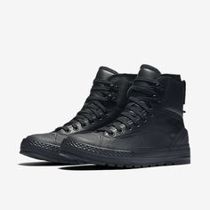 Converse Chuck Taylor All Star Tekoa Waterproof Unisex Boot All Black Converse, Converse Chuck Taylor All Star, Converse All Star, Latest Sneakers, Sneakers Fashion, Fashion Shoes, Mens Fashion, Men's Shoes, Shoe Boots